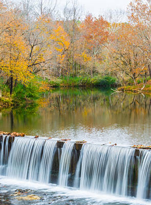 Photograph - Vertical Fall At Buck Creek by Parker Cunningham