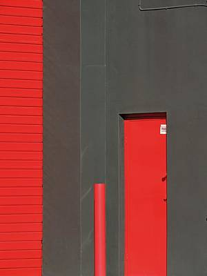 Vertical Red Art Print