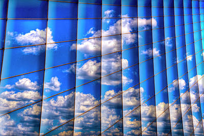 Abstract Digital Photograph - Vertical Sky by Paul Wear
