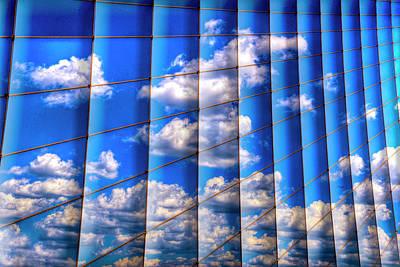 Abstract Digital Art Photograph - Vertical Sky by Paul Wear