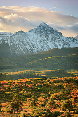 Photograph - Vertical Sneffels Sunrise by Johnny Adolphson