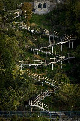 Photograph - Vertical Stairs by Celso Bressan