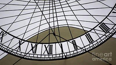 Photograph - Vertical Sundial - Vertikale Sonnenuhr by Eva-Maria Di Bella