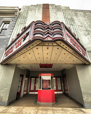 Photograph - Vertical View Of State Theater by Lynne Jenkins