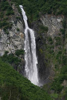 Photograph - Vertical Waterfalls In Nature by Patricia Twardzik