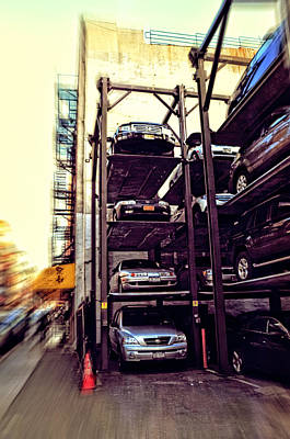 Photograph - Vertically Parked by Mike Martin
