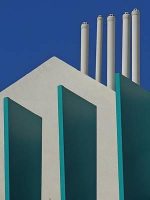 Photograph - Verticals On Broadbeach 2. by Denise Clark