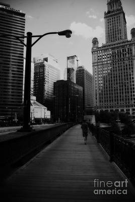 Frank J Casella Royalty-Free and Rights-Managed Images - Vertigo Chicago by Frank J Casella