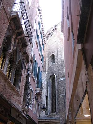 Photograph - Vertigo In Venice by Karen J Shine