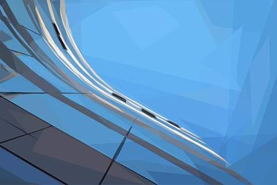 Digital Art - Vertizontal by ISAW Company