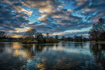 Photograph - Verulamium Park by Ross Henton