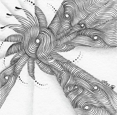 Drawing - Verve by Jan Steinle