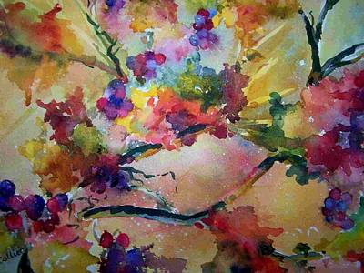 Painting - Very Berry by Sandy Collier