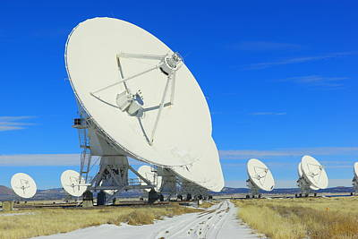 Sirocco Photograph - Very Large Array by Jeff Swan