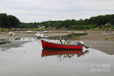 Photograph - Very Low Tide by Lennie Malvone