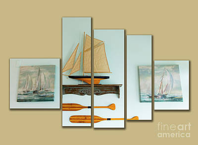 Photograph - Very Nautical by Cecil Fuselier