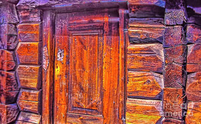 Photograph - Very Old Door by Rick Bragan