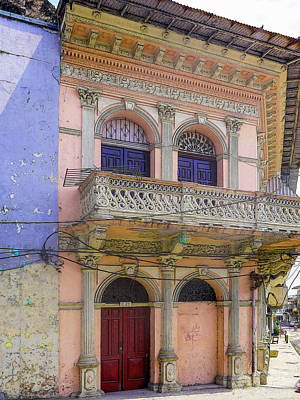 Photograph - Very Old Town Panama by Herb Paynter