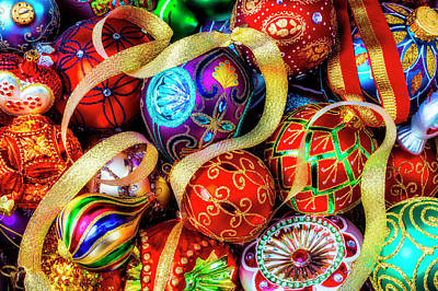 Photograph - Very Special Christmas Ornaments by Garry Gay