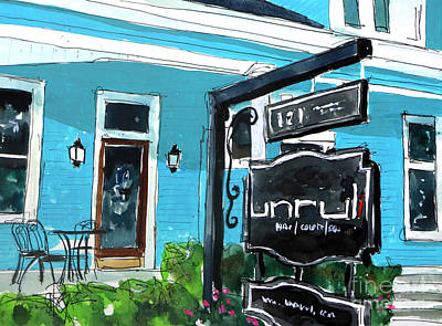 Franklin Tennessee Painting - Truly Unruli by Tim Ross