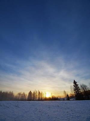 Photograph - Vesilahti Sunrise by Jouko Lehto