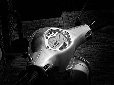 Photograph - Vespa by Bob Orsillo