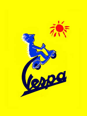 Photograph - Vespa Phone Case by Mark Rogan