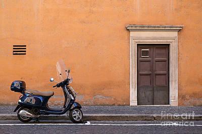Trastevere Photograph - Vespa Roma by Richard Thomas
