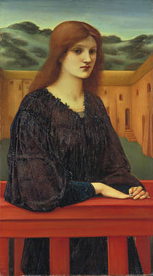Painting - Vespertina Quies by Edward Burne-Jones