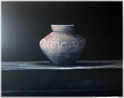 Southwestern Art Painting - Vessel In The Sun by Kenneth McGarity