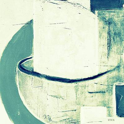 Painting - Vessels 6  by VIVA Anderson
