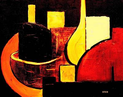 Painting - Vessels Hot by VIVA Anderson
