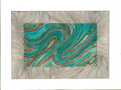 Drawing - Vessels by Michele Bullock