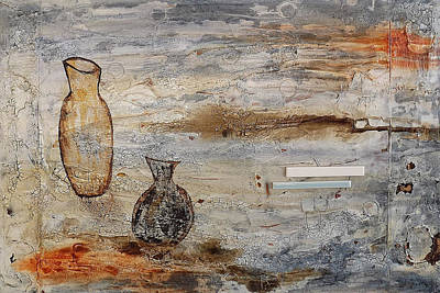 Against The Sunlight Painting - The Potter's Work Is Sacred by Susan Maren