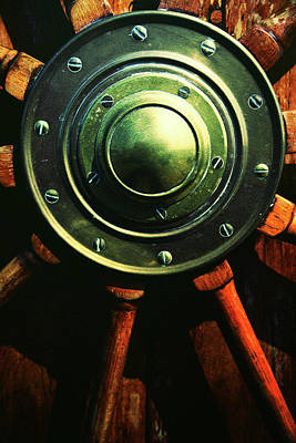 Vessels Wheel Art Print
