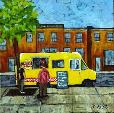 Painting - Vesta Lunch by Diane Arlitt