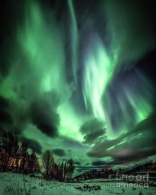 Wall Art - Photograph - Vestfjord Northern Lights by David Rocaberti