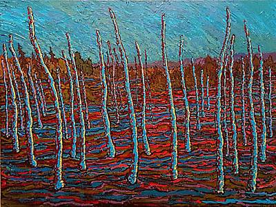 Painting - Vestige by Michael Graham