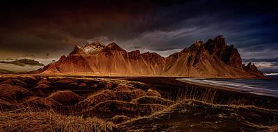 Photograph - Vestrahon With Sunglow by Allen Biedrzycki