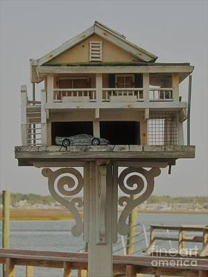 Photograph - Bird House With Double Car Garage by Roberta Byram