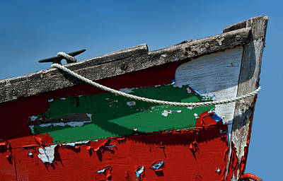 Rowing Royalty Free Images - Veteran Rowboat Royalty-Free Image by Murray Bloom