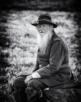 Photograph - Veteran Soldier by Alan Raasch