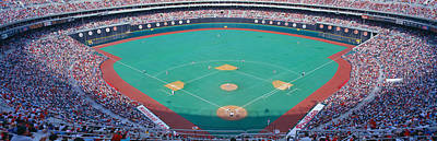 Pitching Photograph - Veteran Stadium, Phyllis V. Astros by Panoramic Images