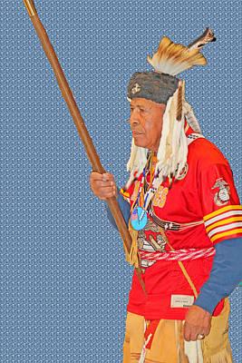Photograph - Veteran Warrior by Audrey Robillard