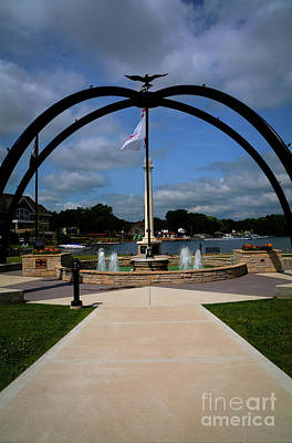 Photograph - Veterans Memorial Park by Deborah Klubertanz