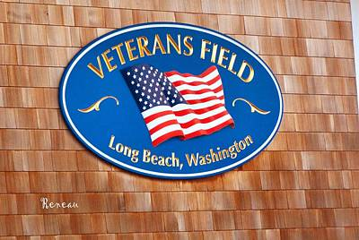 Photograph - Vets Field 1 - Long Beach Wa by Sadie Reneau