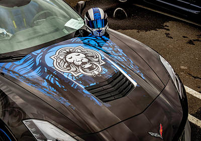 Photograph - Vette Hood by Jorge Perez - BlueBeardImagery