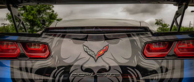 Photograph - Vette Rear Closeup by Jorge Perez - BlueBeardImagery