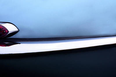 Light Blue Abstract Photograph - Vette by Rebecca Cozart