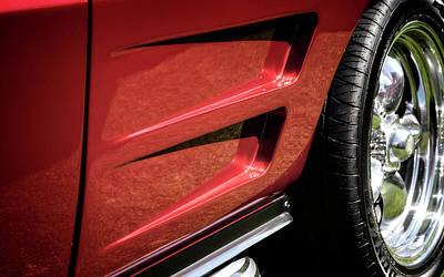 Photograph - Vette Side Panel by Scott Kemper
